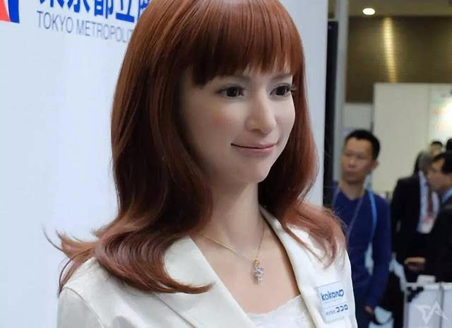 欧美女日本女中国女_日本的美女机器人