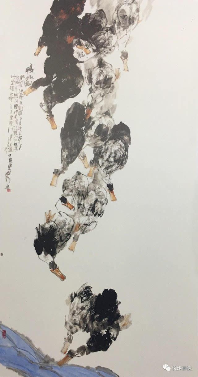 """长沙画院画家赵琦作品分别入选""""泾上丹青·全国中国画作品展""""与""""尚意图片"""