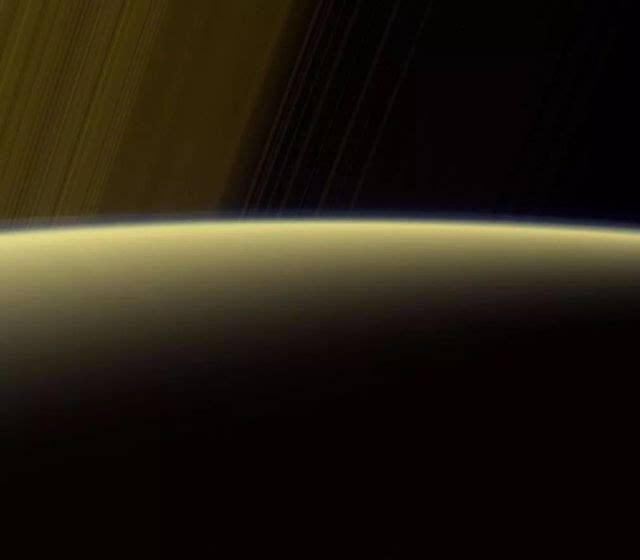 九:土星光环以及地平线