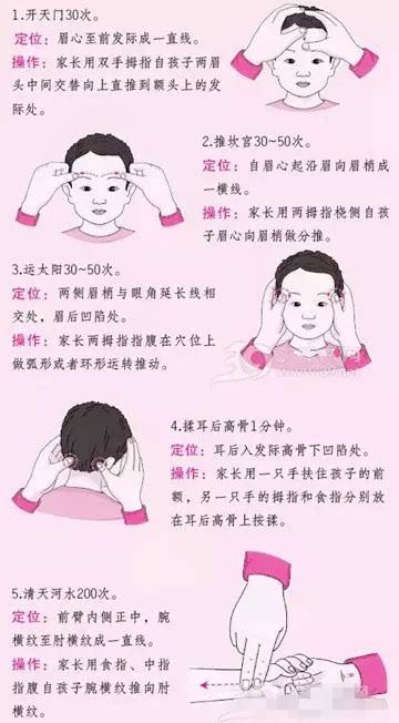 小儿推拿培训李波老师:宝宝发烧了,除了物理降温,还可
