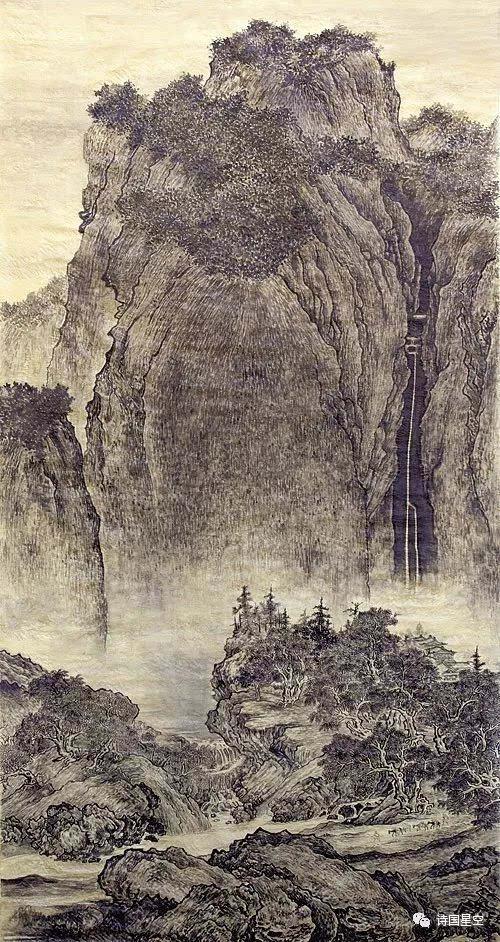 范宽不画花朵:因为灌木就是花朵,荆棘就是花朵,正如山溪就是河流,瀑布