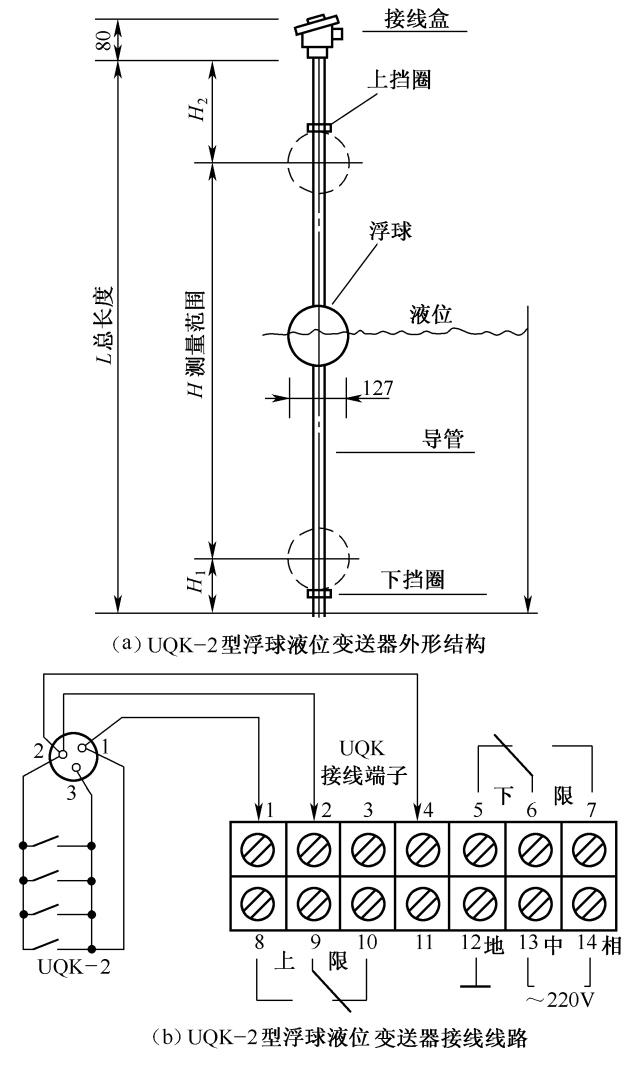 19.uqk-2型浮球液位变送器接线电路