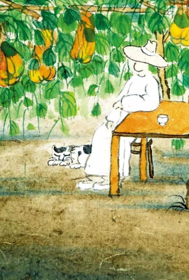 老樹畫畫   干了這碗雞湯,春夏秋冬無煩惱