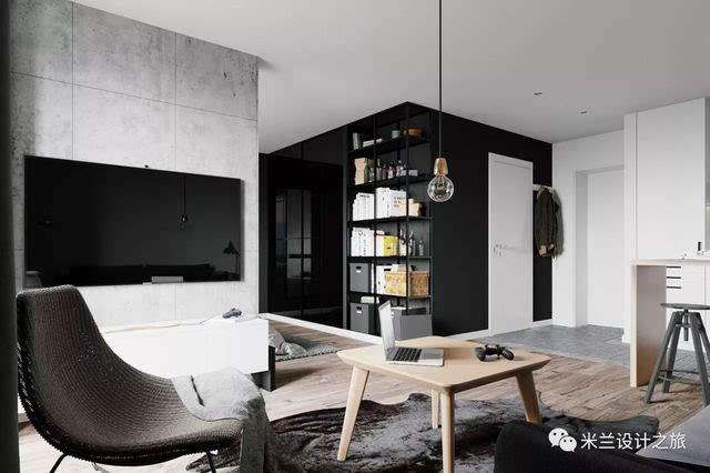 北欧优雅风格小公寓,掠夺眼球的优雅范儿图片