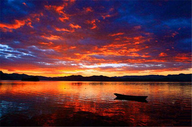 班得瑞《日出晨安》 最美日出,  湖南张家界 秋日, 最优美的歌曲, 最