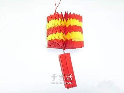 中秋灯笼diy制作图解 幼儿园做灯笼的教程图片