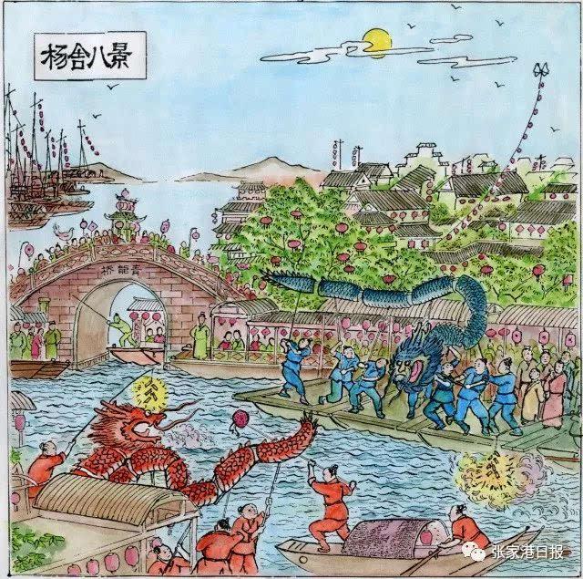 14,明朝中叶,海上倭寇(日本海盗)猖獗,屡犯杨舍地区,损失惨重.