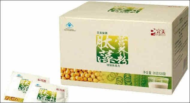 完美肽藻营养粉针对亚健康人群研发的保健品