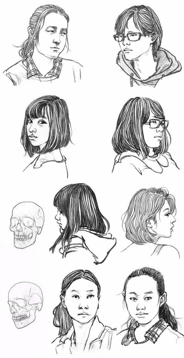 画漫画人物身体结构