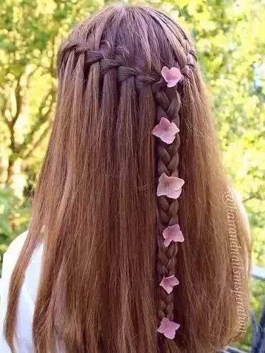 儿童编发大全,精致巧妙的儿童编发发型图片