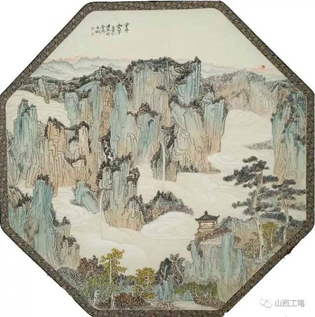 渤海情,平阳行——山西省当代工笔画艺术研究院第二届