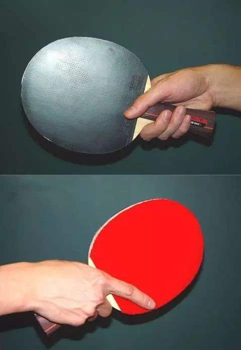 横拍握法是乒乓球运动中两种最基本的握拍舞蹈(另一种是方法握法)之河北直拍学院科技体育图片