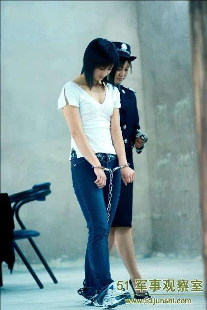 公安部绝密照片:中国七大美女死刑犯(图)