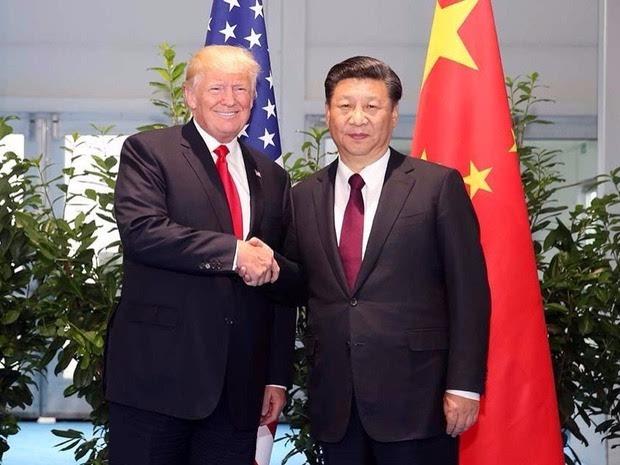 11月8日至10日,美国总统特朗普对中国成功进行国事访问,并与习近平
