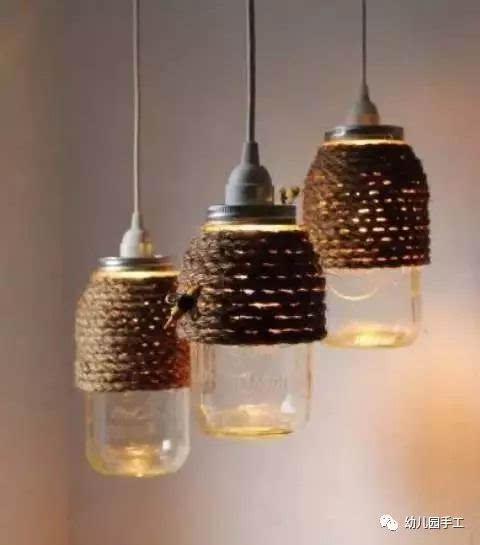 很简单的diy,立马让这些貌似无用的瓶罐变成了烛台,花瓶,灯罩,笔筒图片