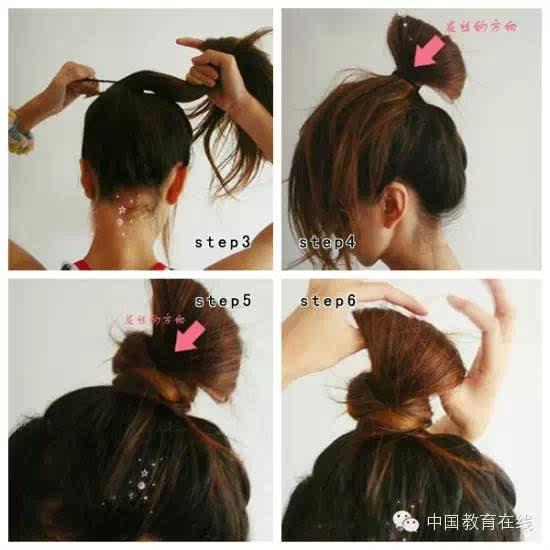 女生的100种扎头发方法,非常漂亮!