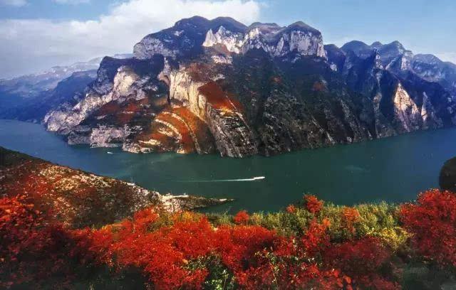 长江三峡(巫山)国际红叶节 今年的红叶会不会别样的美丽 流传千年的图片