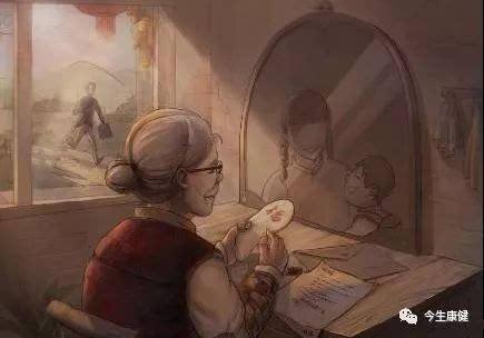 古人云:幸福就是七十岁还有妈,八十岁还有家!图片