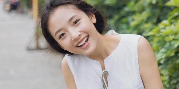 吴倩最新照,她发际线后移好严重,没有大学生味了,更像年轻妈妈