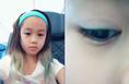 钟丽缇女儿考拉近照曝光 染发化妆变化超大