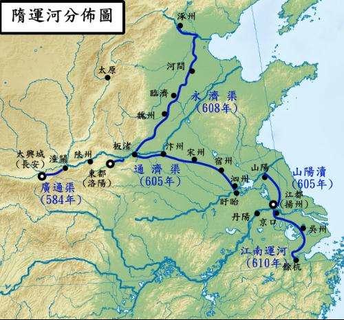 隋唐大运河最终成就了哪座如梦幻的城市