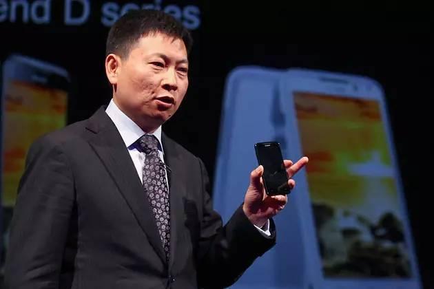 余承东:华为将超越三星和苹果 麒麟芯秒杀英特尔的照片
