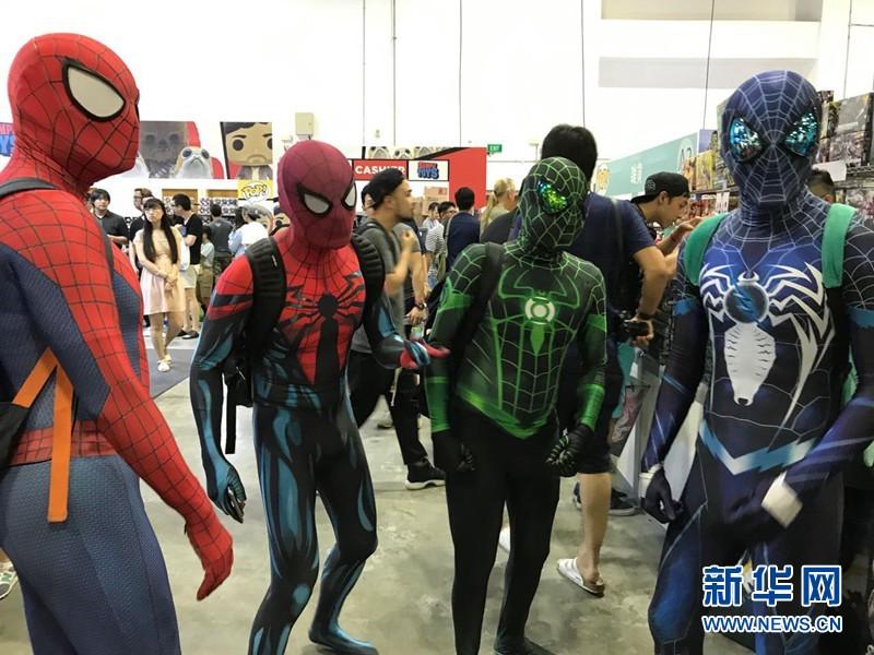 新加坡举办第10届玩具电玩与漫画展