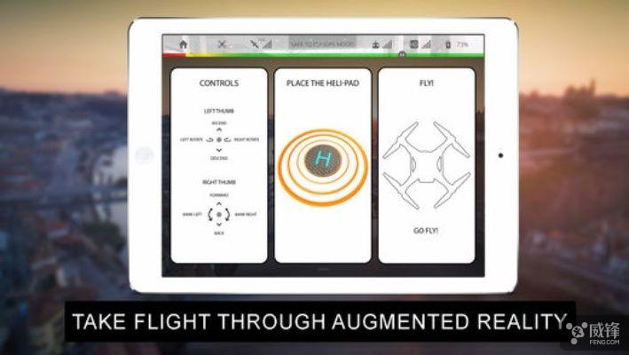 ARKit居然还让iPhone变成了虚拟无人机