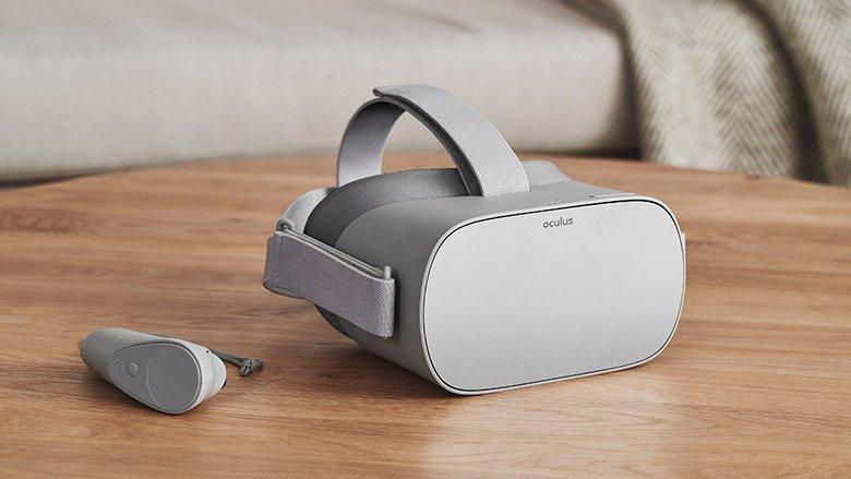摆脱电脑手机束缚!Facebook推出独立VR头显Oculus Go,戴上就能疯狂打机