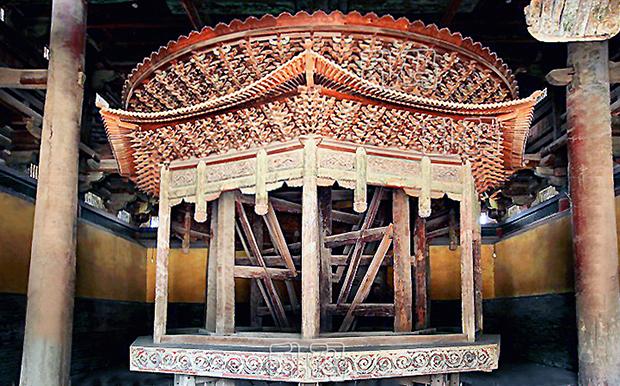 中国古代黑科技:河北古寺千年机械至今正常运转领先欧洲800年!