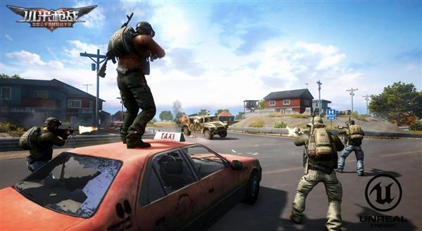 《小米枪战》新模式解锁:开黑、载具、空降系统一应俱全