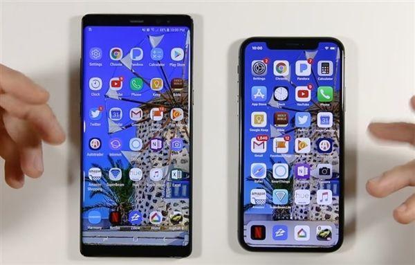 应用流畅度测试:iPhone X对比三星Note 8的照片 - 1