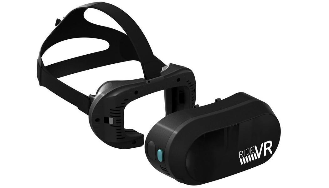 RideVR 专门为主题公园开发的VR设备