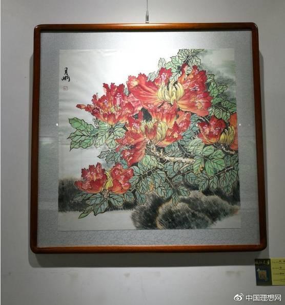 白月晰先生,版纳追梦绘画展,在鹿泉区文化馆圆满举办