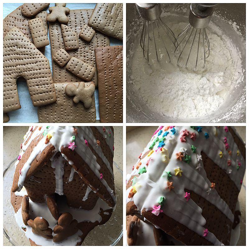 圣诞节亲手给孩子做----圣诞姜饼屋