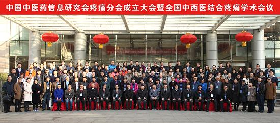 中国中医药信息研究会疼痛分会成立大会暨全国中西医结合学术大