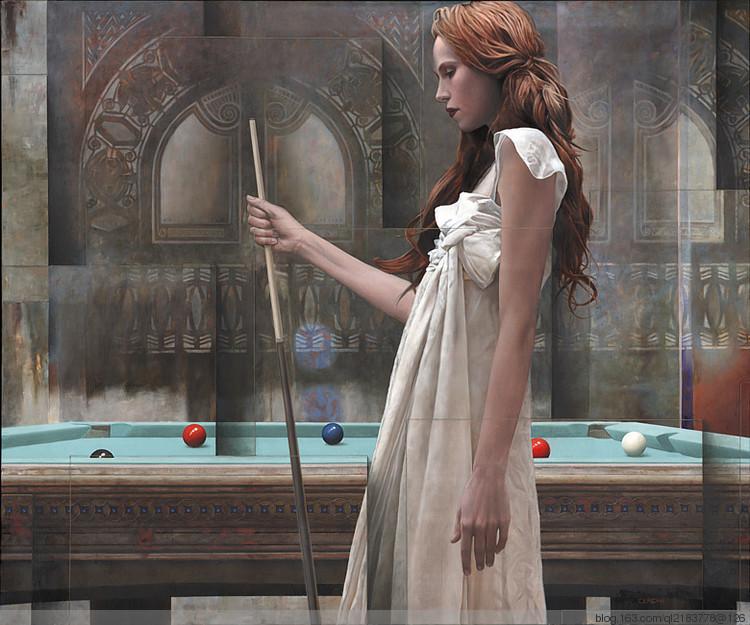 分割与美:意大利艺术家Sergio.Cerchi作品