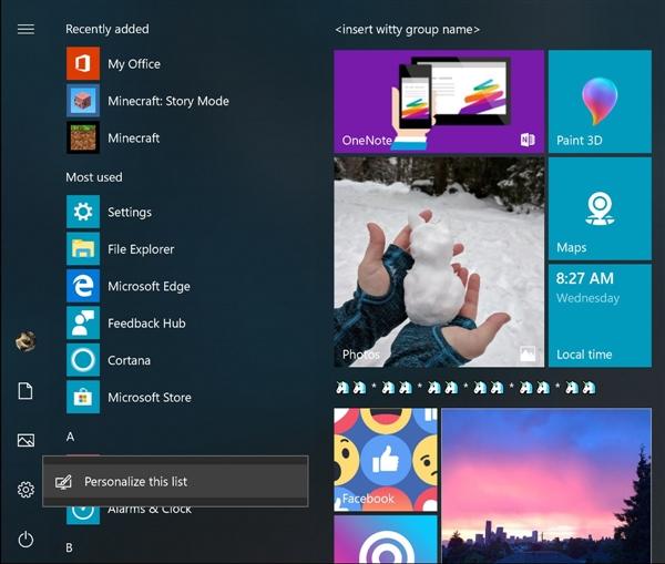 Windows10新版17074发布:免打扰功能加入的照片 - 3