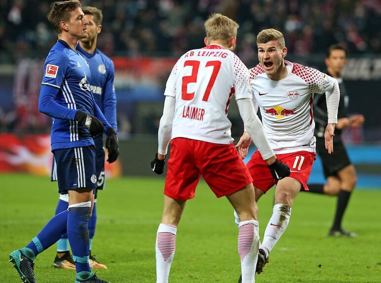 德甲综述-韦尔纳传射莱比锡3-1升次席 多特0-0
