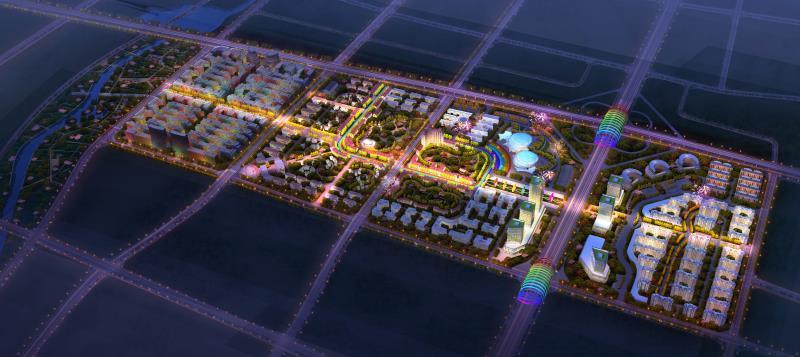 即墨通济新区成立五周年实现跨越式大发展