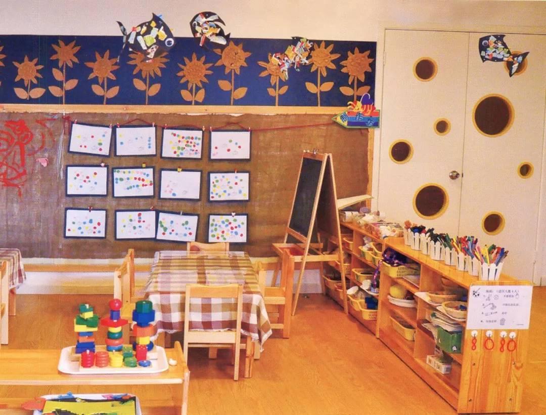 数学区域角_幼儿园各个区域区角布置!太实用了!