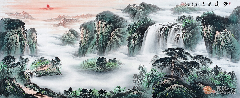 造就艺术家居,家居装饰画选择山水画有品质
