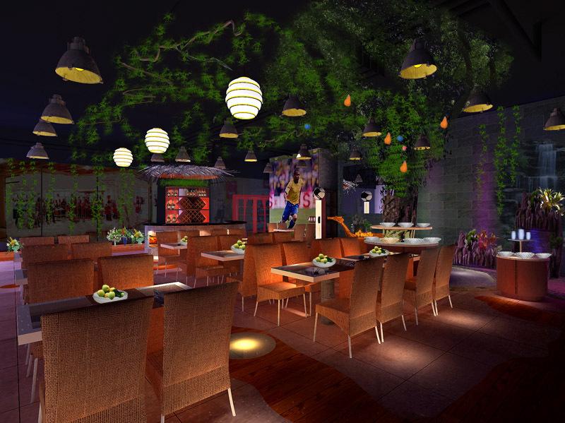 上海餐馆设计公司|烧烤店的设计风格决定了你家烧烤店的火爆度!