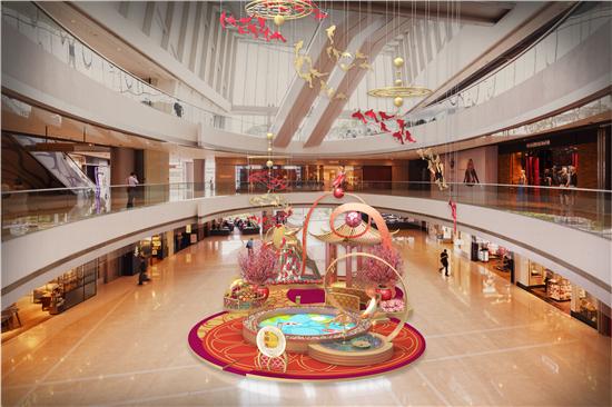 香港ifc商场 农历新年呈献:「鲤」跃龙门贺新岁