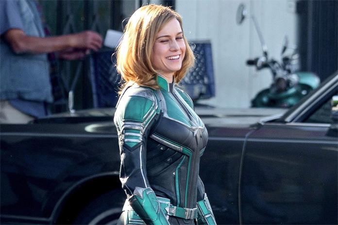 《惊奇队长》首曝片场照 布丽-拉尔森绿色战服加身