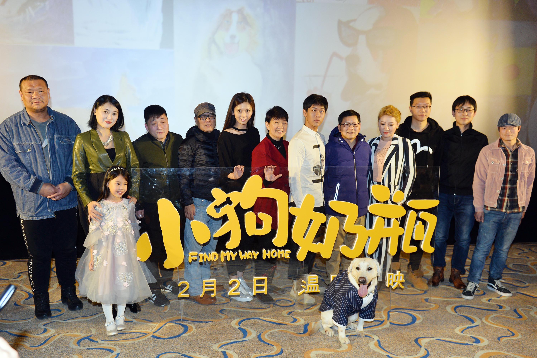宠物题材电影《小狗奶瓶》首映 小朋友看哭