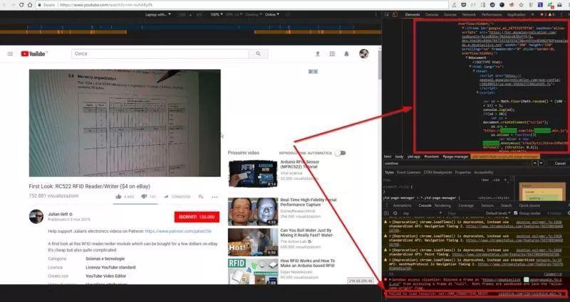 YouTube 广告被曝含挖矿代码,侵占用户 80% 的 CPU 资源