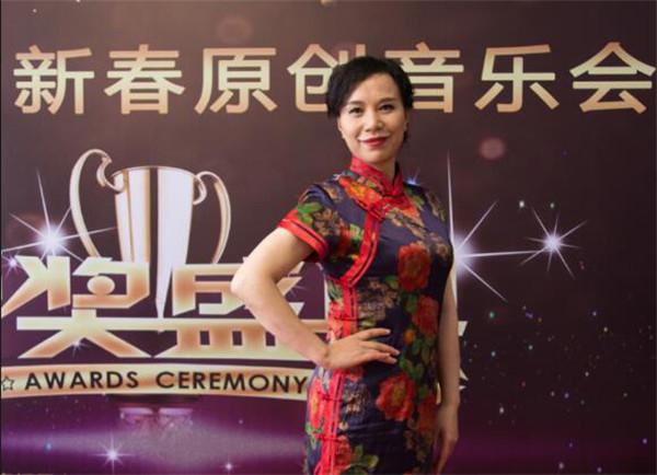 """跨界原创""""歌手""""谭邦兰荣获CCTV《2018第六届新春原创音乐会》金奖"""