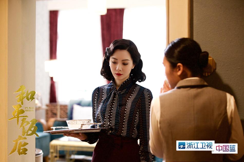 """《和平饭店》持续热搜 雷佳音""""前任""""现身剧情更趋白热化"""