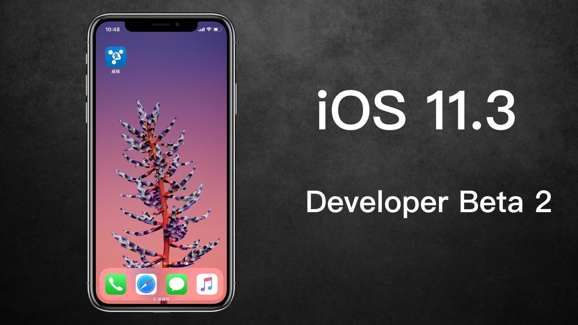 苹果发布iOS 11.3 Beta 2 降频开关终于来了